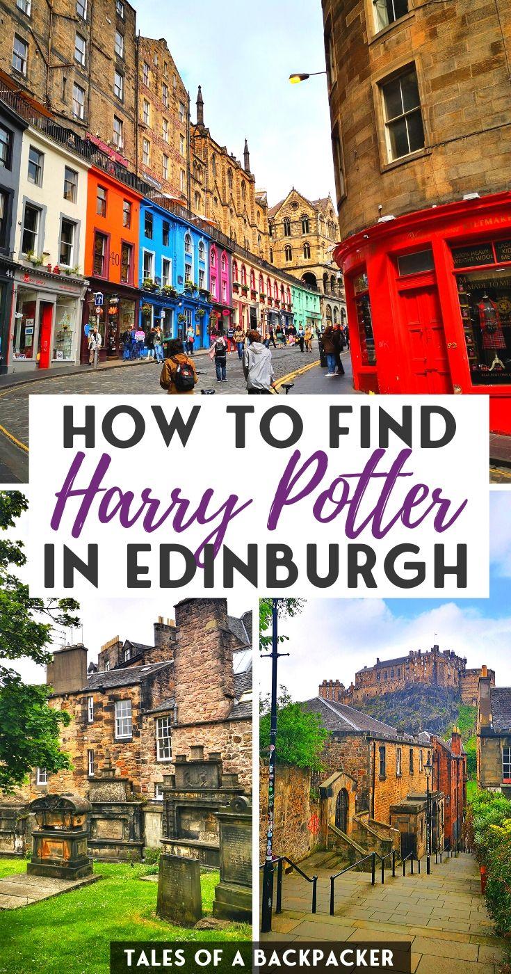 Hunting For Harry Potter In Edinburgh Harry Potter Locations Edinburgh Castle Edinburgh Harry Potter
