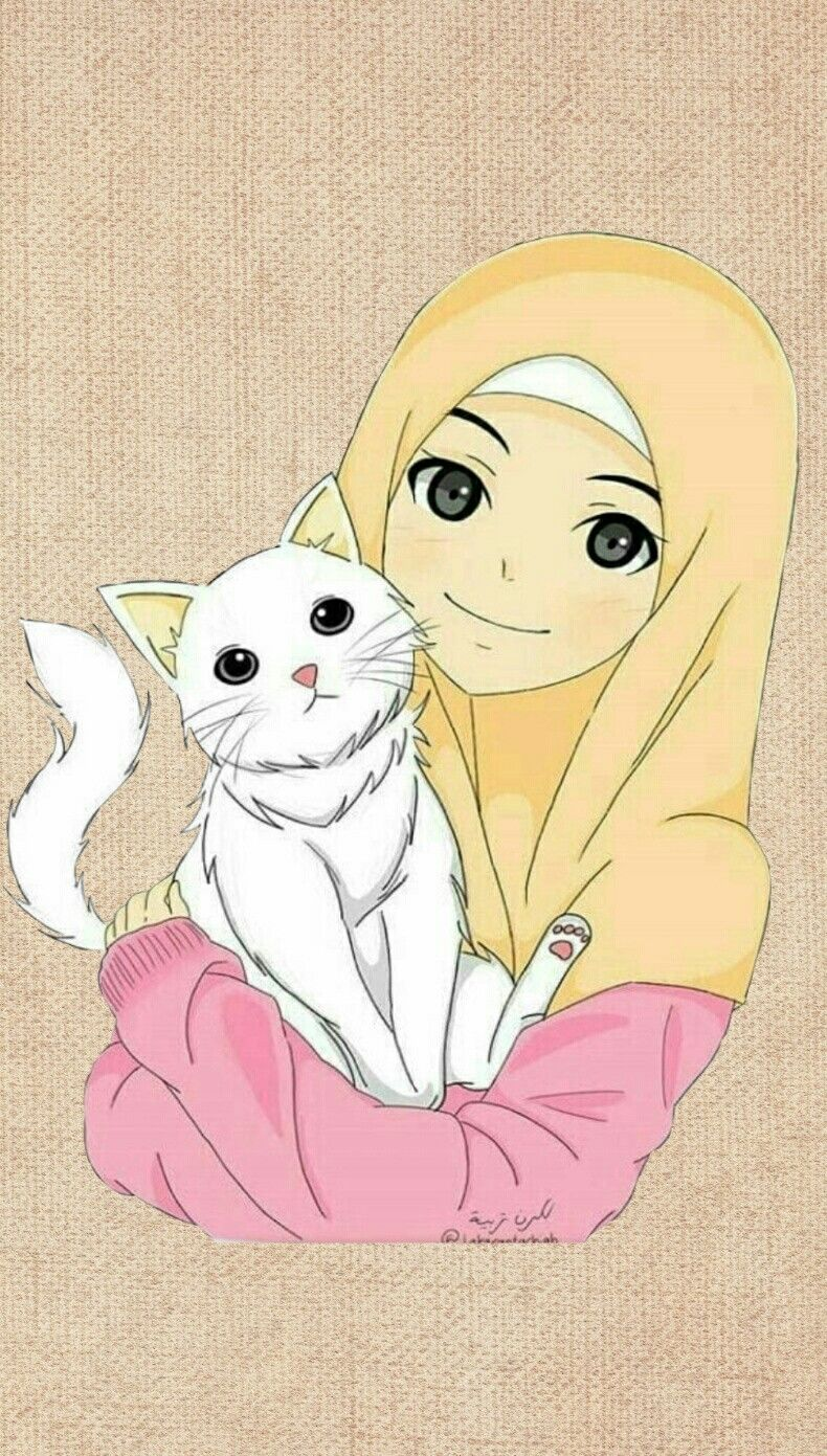 Pin Oleh Yaslina Di Hijab Cartoon Di 2020 Ilustrasi Karakter Gambar Ilustrasi