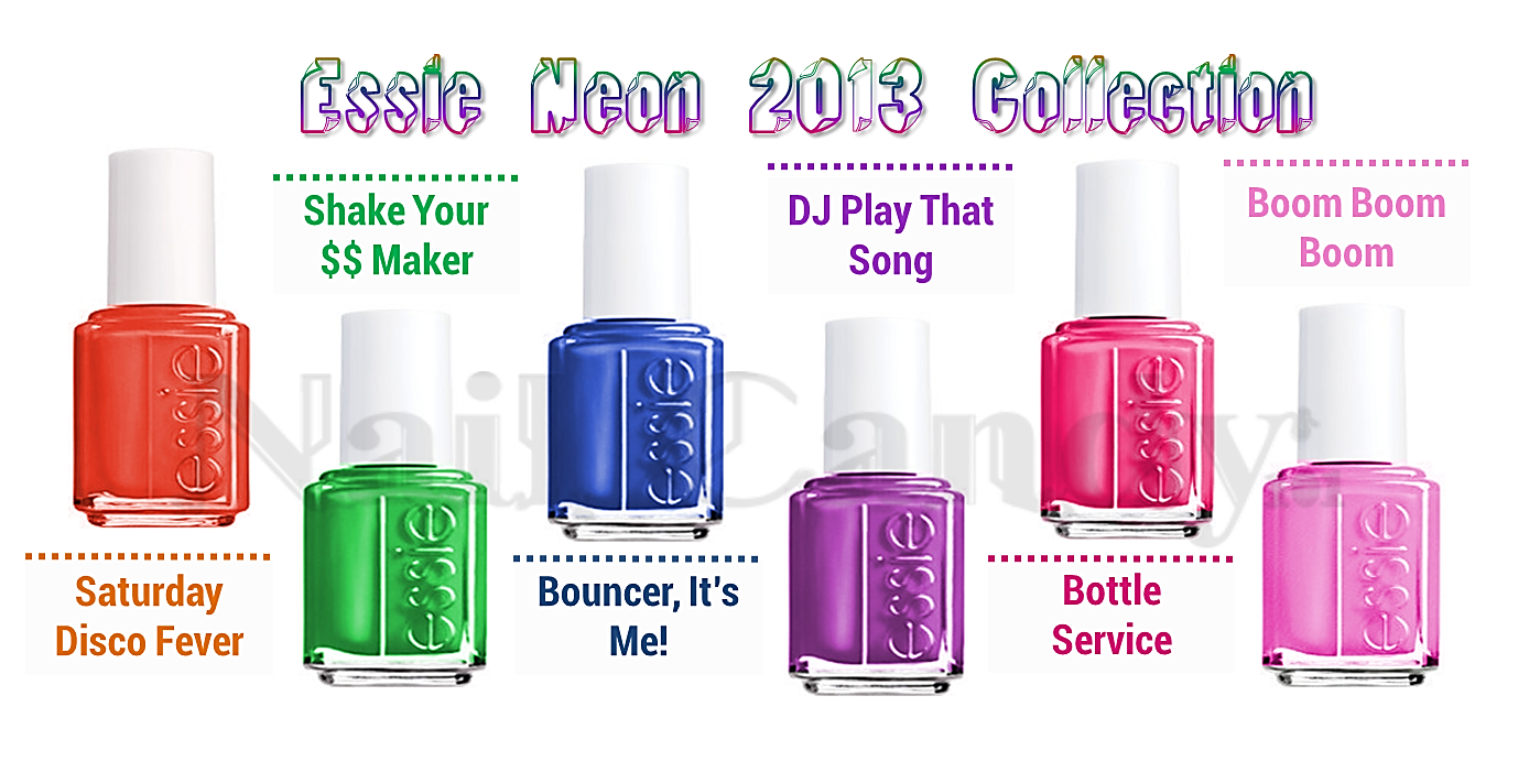 Essie Neon 2013 nail polish collection   Nail and Beauty   Pinterest ...