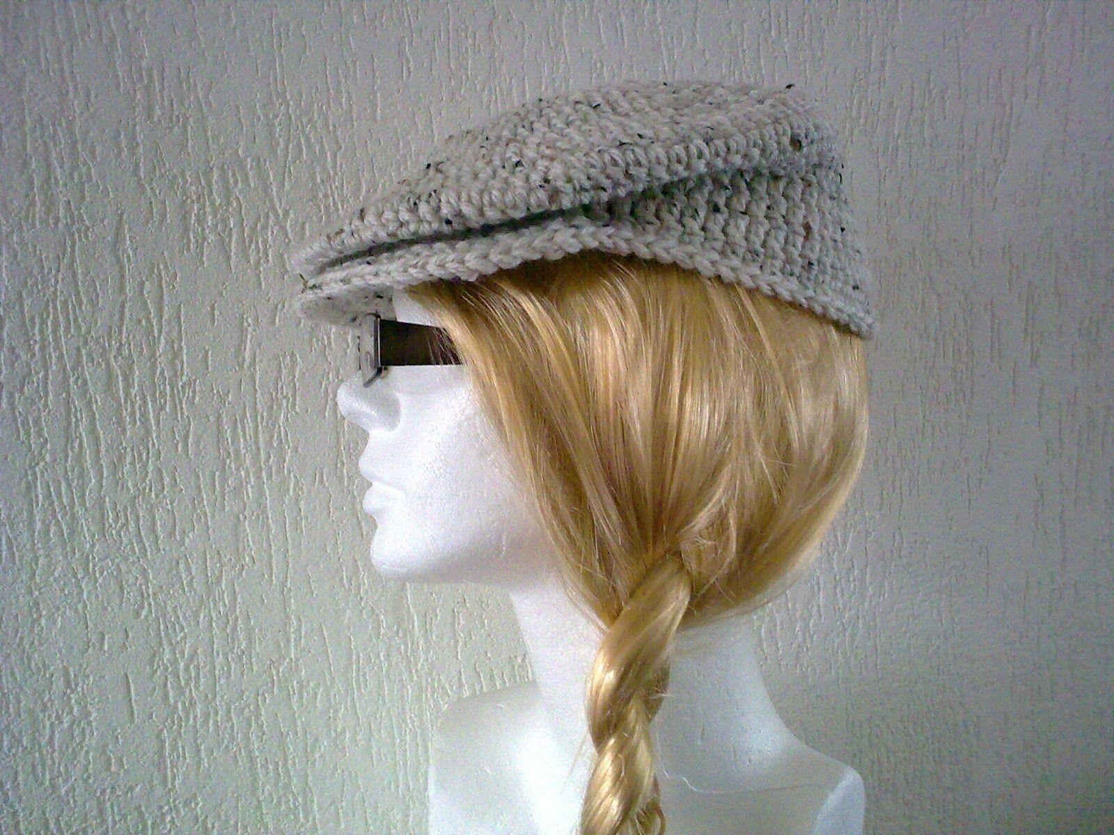 men s crochet driver cap - Free Pattern at  http   www.bobwilson123 c857d32883d0