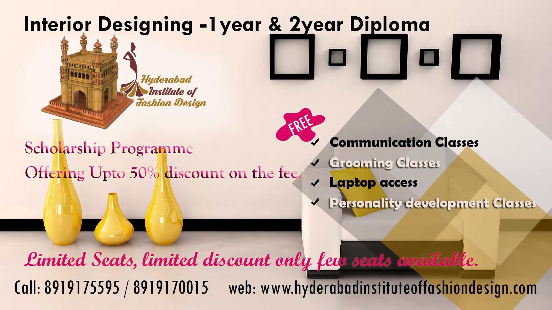 Get into the world of interior design through us admission open also rh pinterest