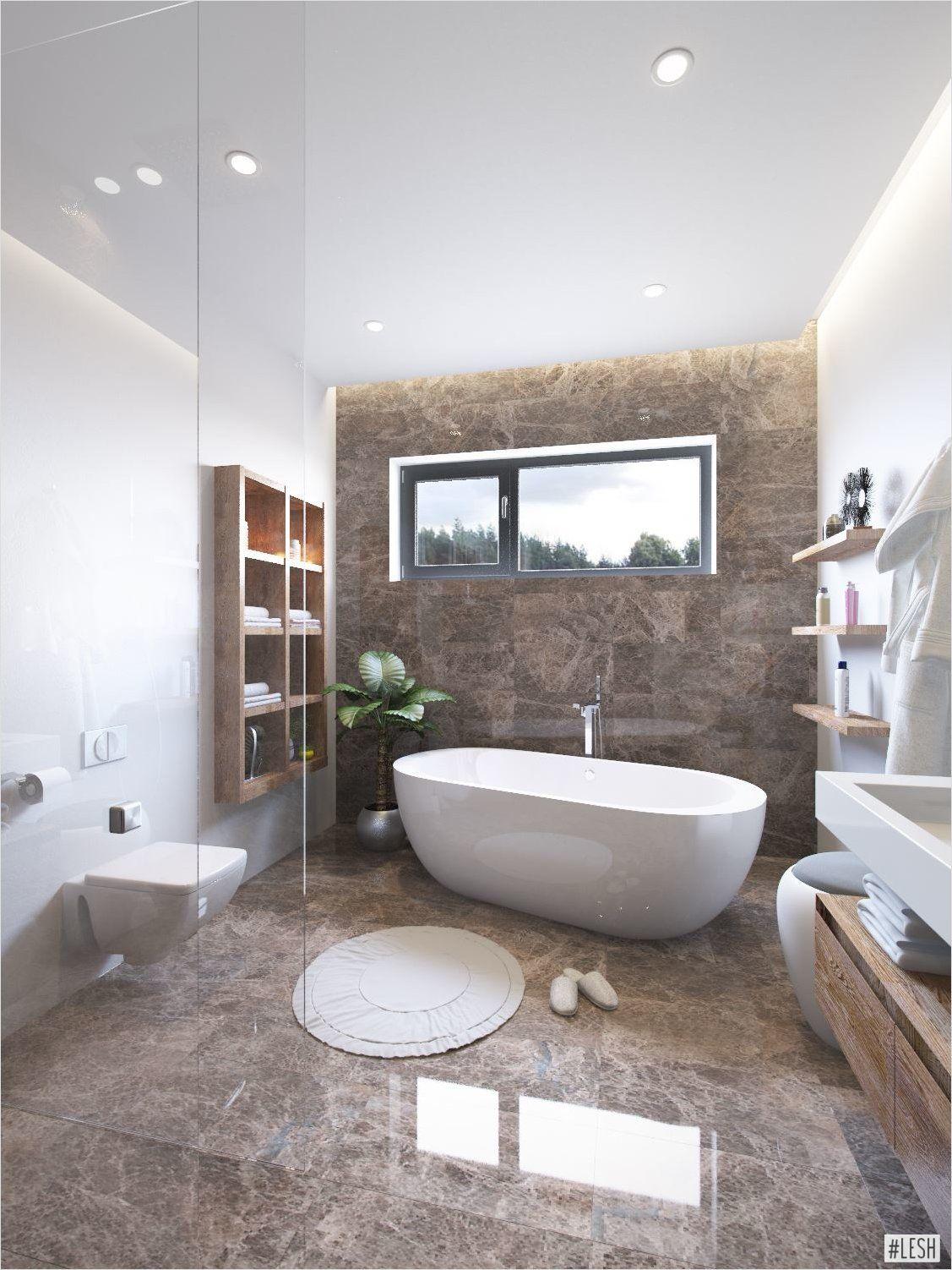 дизайн проект ванной комнаты 5