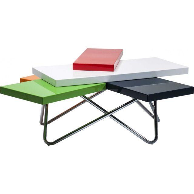 Karedesign Table basse design Micado Colore 105x94 cm Kare Design