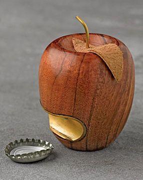 Destapador con forma de manzana!!