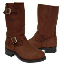Xelement Womens Dark Brown Engineer Boot | Women's