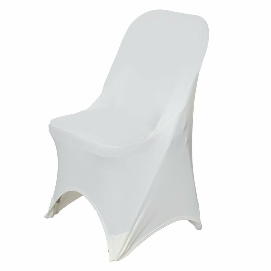 Details About 50 Sleek Spandex Folding Chair Covers Wedding Party