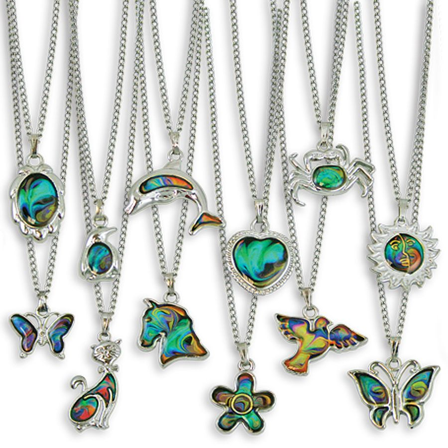 Mood chain necklaces this selection of mood necklaces come with a mood chain necklaces this selection of mood necklaces come with a variety of shapes color meaningscolor chartsmood geenschuldenfo Image collections