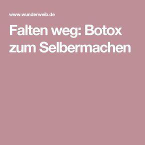Photo of Falten weg: Botox zum Selbermachen   Wunderweib