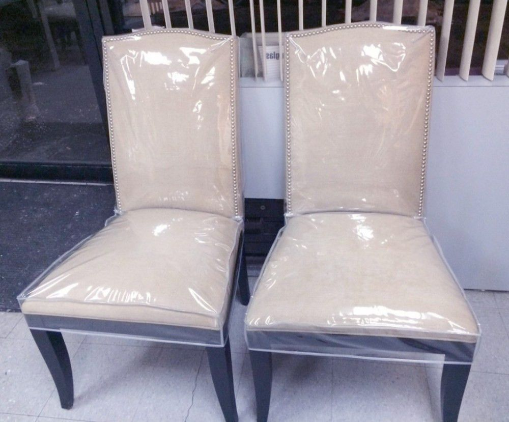 Dining Room Chair Covers Uk Clear Plastic Dining Chair Covers Clear ...