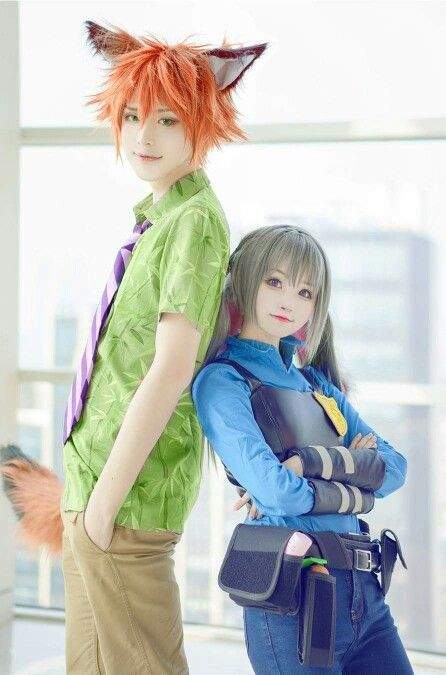 Image result for judy and nick cosplay