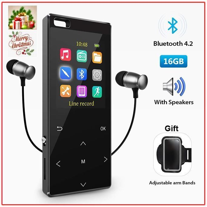 Bluetooth42 MP3 Player Direct Recording Lossless Digital