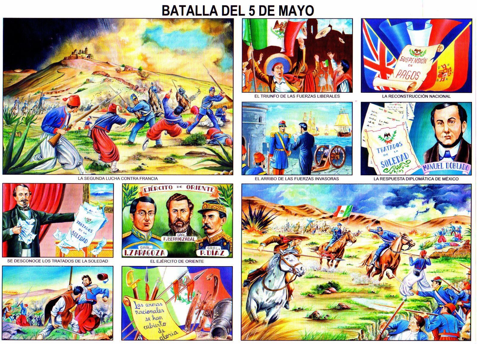 La Batalla Del 5 De Mayo Monografia