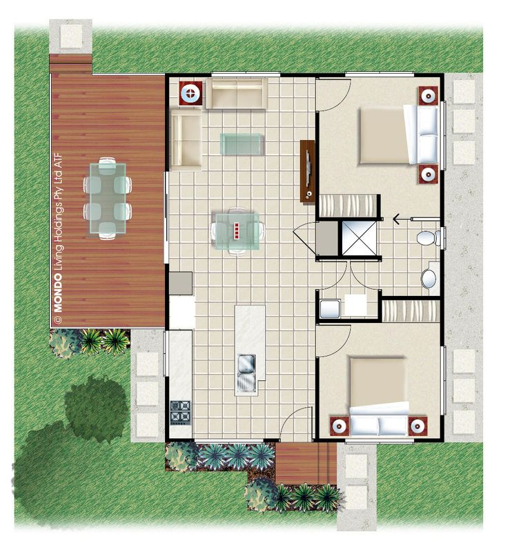 2 bedroom kit home plans