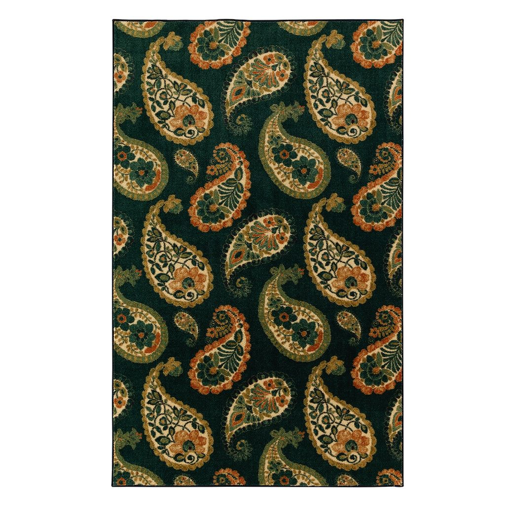 Mohawk home aurora lovely paisley weardated rug products