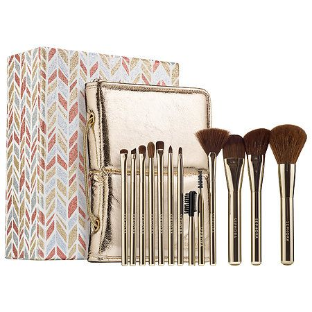 Deluxe Charcoal Antibacterial Brush Set by Sephora Collection #11
