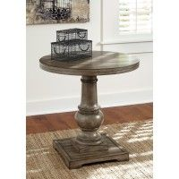 Rustic Accents   Light Brown   Round End Table At McDonaldu0027s Fine Furniture  In Lynnwood WA