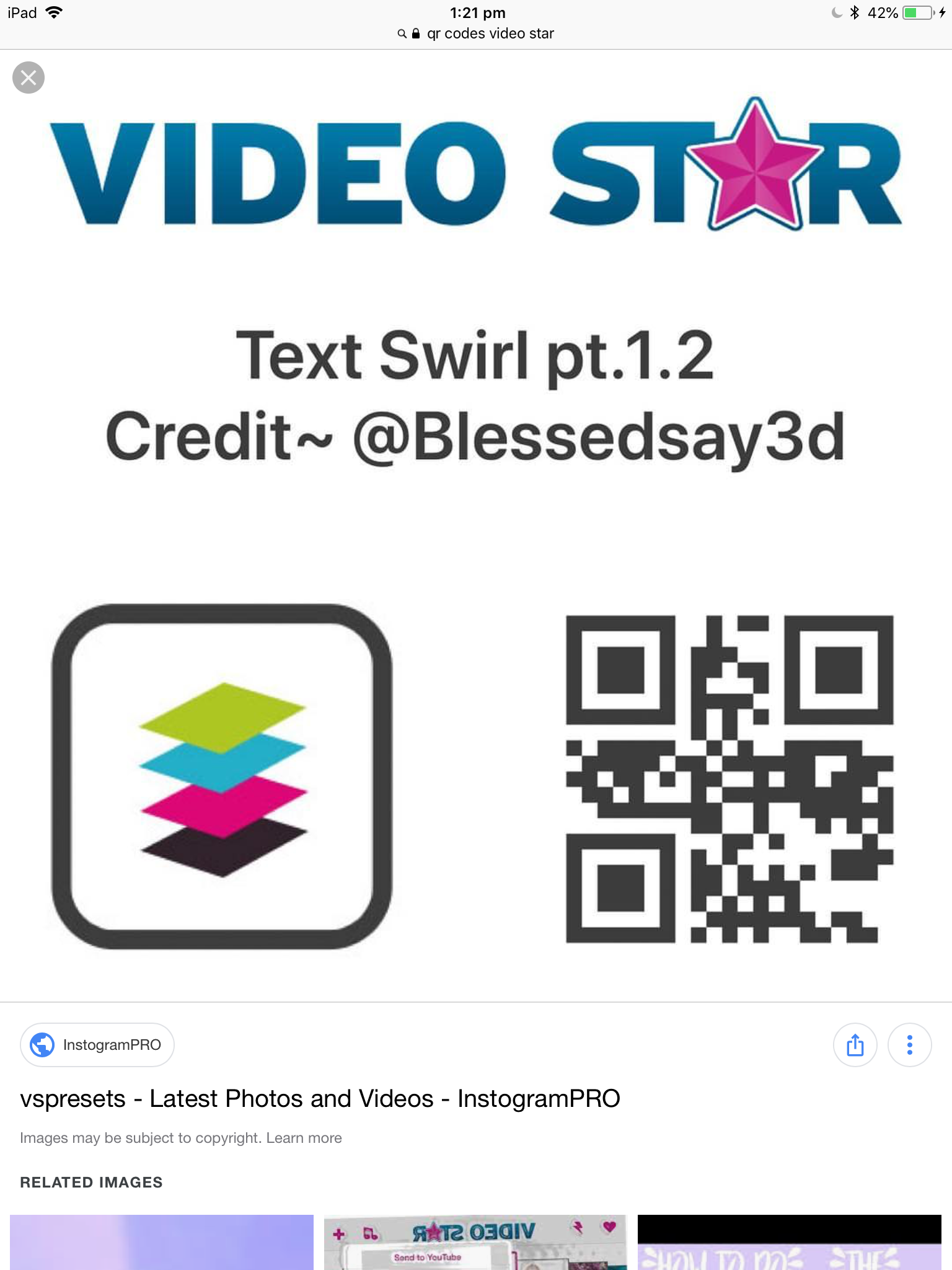 Video star text swirl QR Code | Text codes, Coding, Qr code