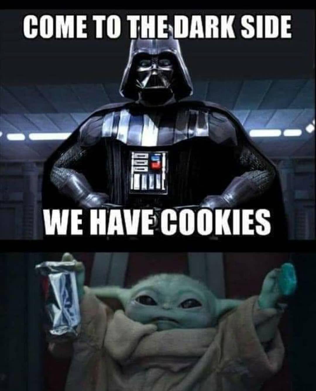 The Real Grogu Baby Yoda On Instagram Follow Memeiety Yoda Funny Yoda Meme Star Wars Jokes