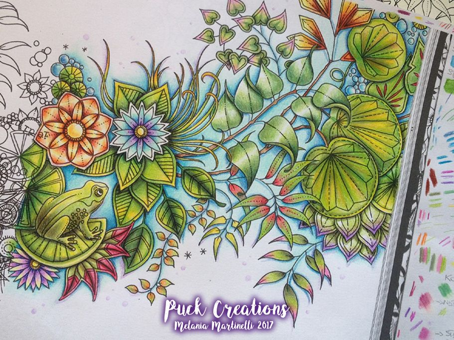 Secret Garden Coloring Book By Johanna Basford | My Coloured Pages ...