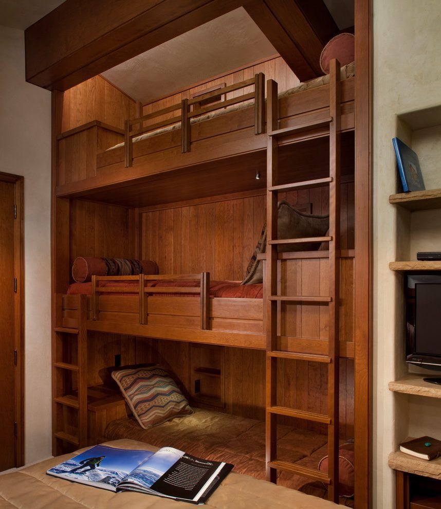Built In Bunk Beds For Lasting Durability Built In Bunk Beds How