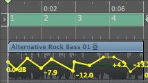 How To Automate Audio Tracks In Logic Pro 8 With Images Audio Track Logic Pro Digital Audio Workstation