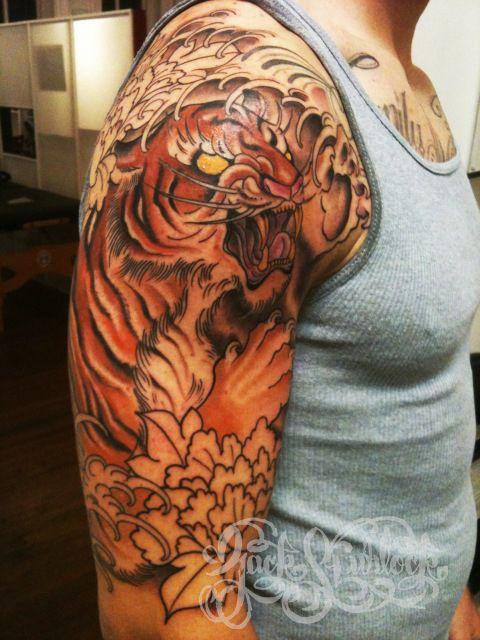 e7b3c714dc98e 60 Tatuagens de tigres - Semana Oriental | TIGRE TATTOO | Tatuagem ...