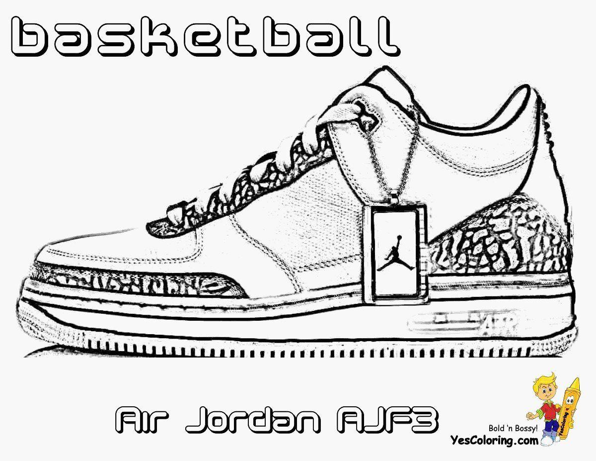 Jordan Shoe Coloring Book Awesome Coloring Coloring Jordan