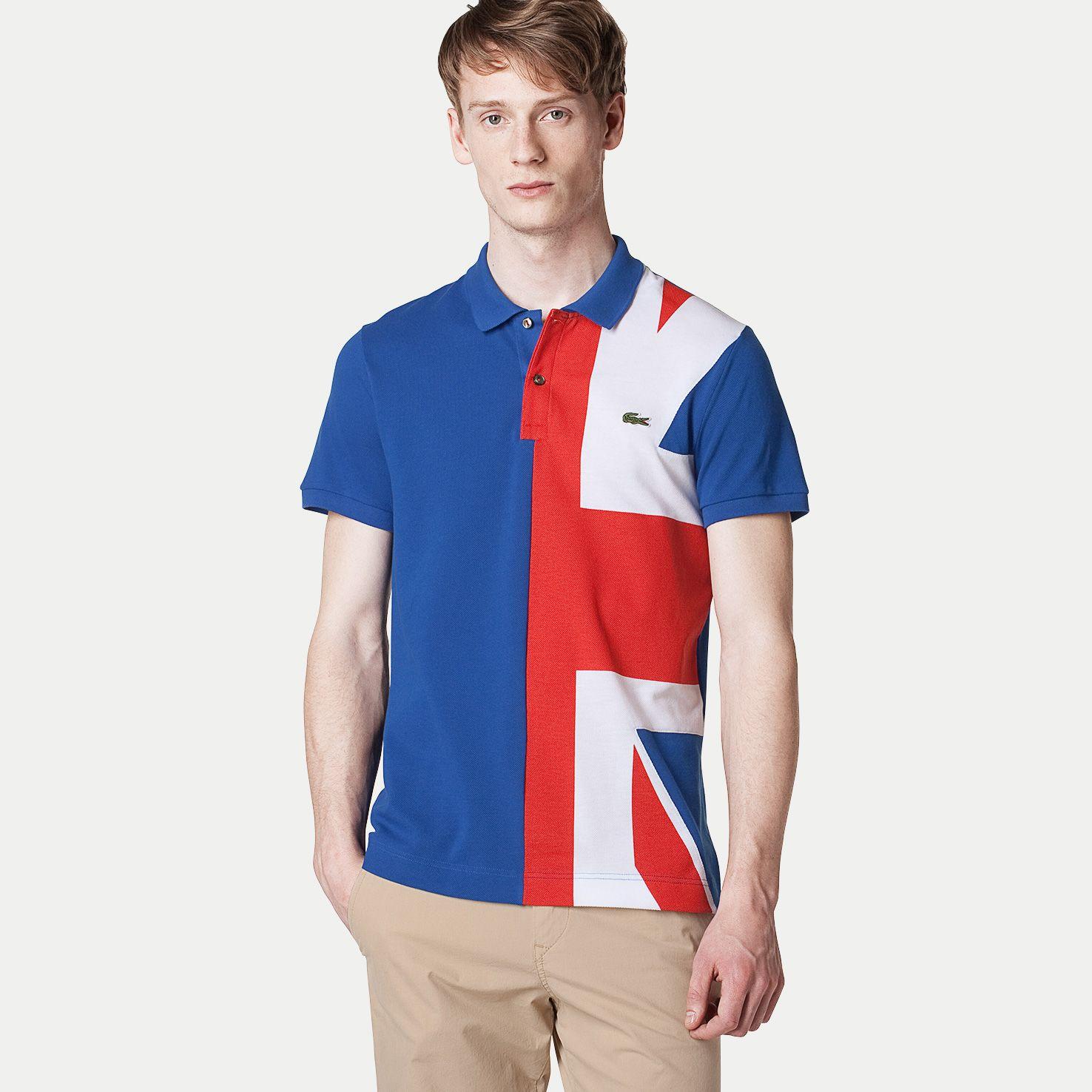 e3cc2f1a780a9c Lacoste Slim Flag Polo - UK
