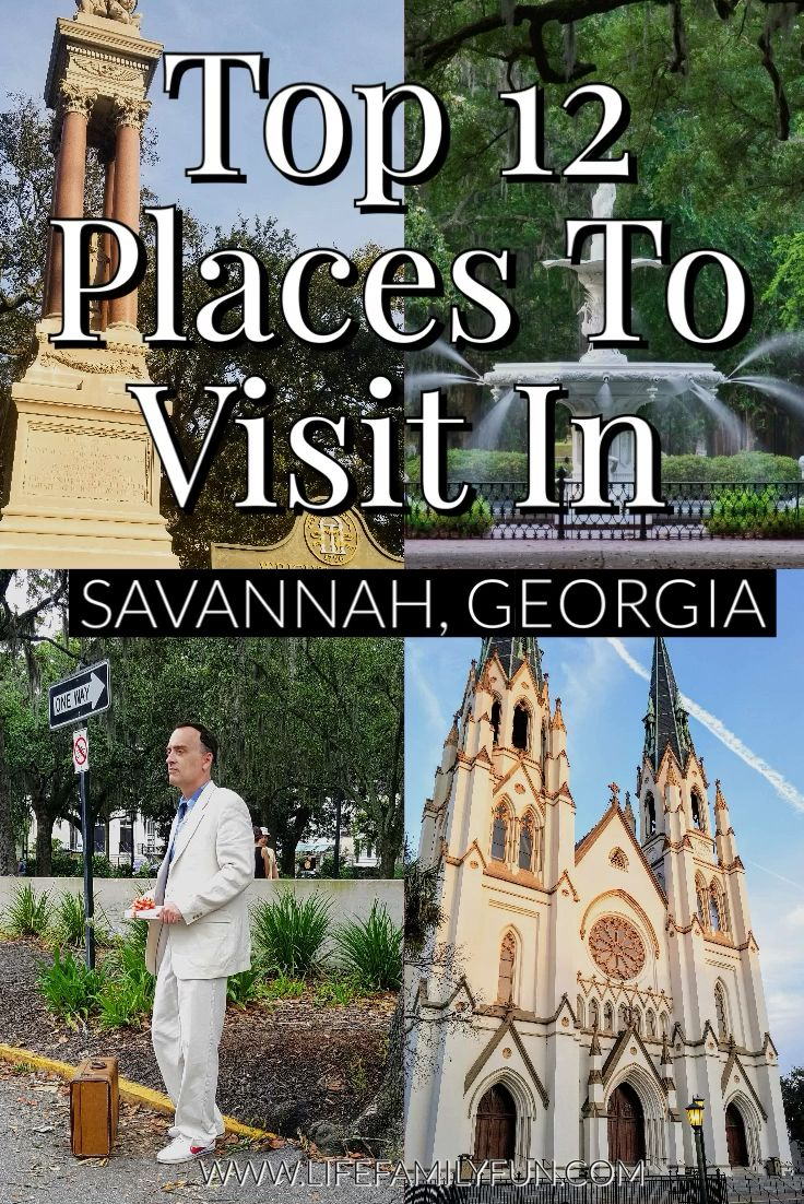 Not only does this city offer so much history but it has so much charm. If you're planning a trip to the area, here are the top 12 places I would recommend when visiting Savannah, Georgia.