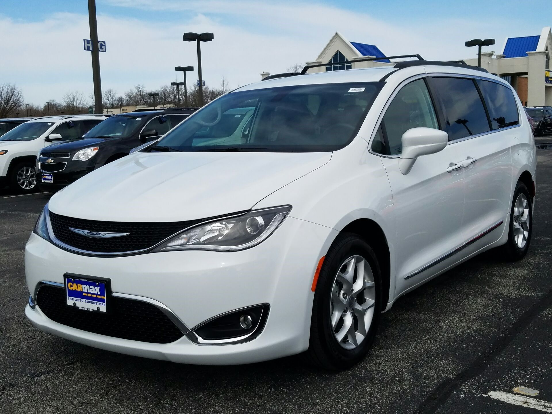 Used 2017 Chrysler Pacifica In Indianapolis Indiana Carmax