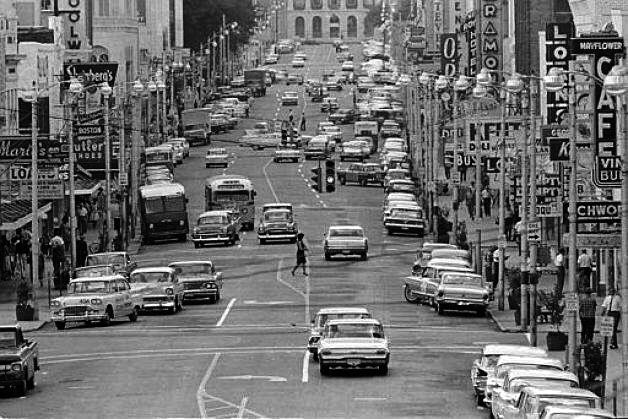 East Capitol Street Jackson Ms Early 1960s Jackson Mississippi