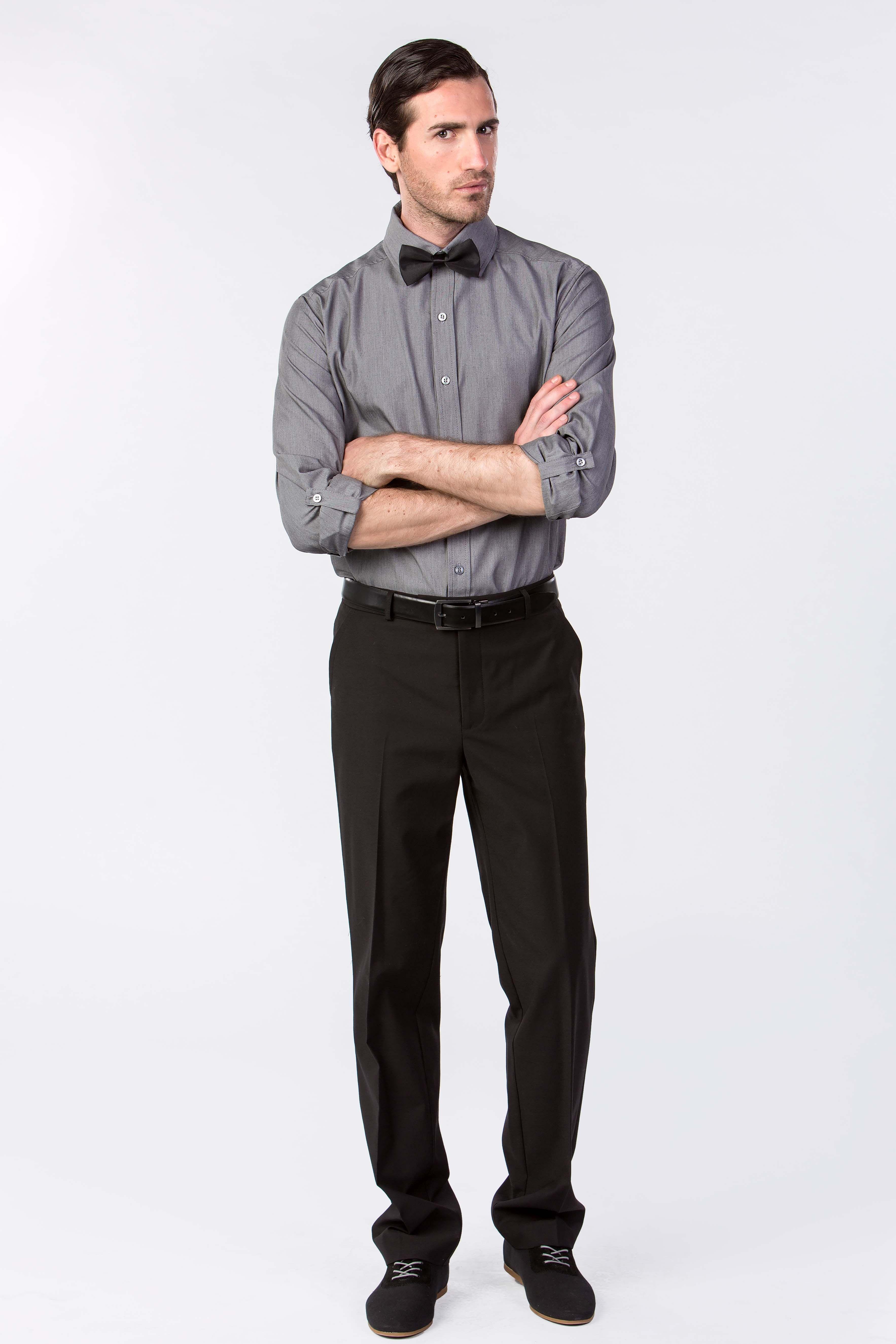 uniformes restaurant corporatif le look classique de serveur avec une touche moderne chemise. Black Bedroom Furniture Sets. Home Design Ideas