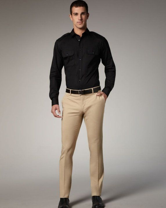 Khaki Pants Outfit Men | Gpant