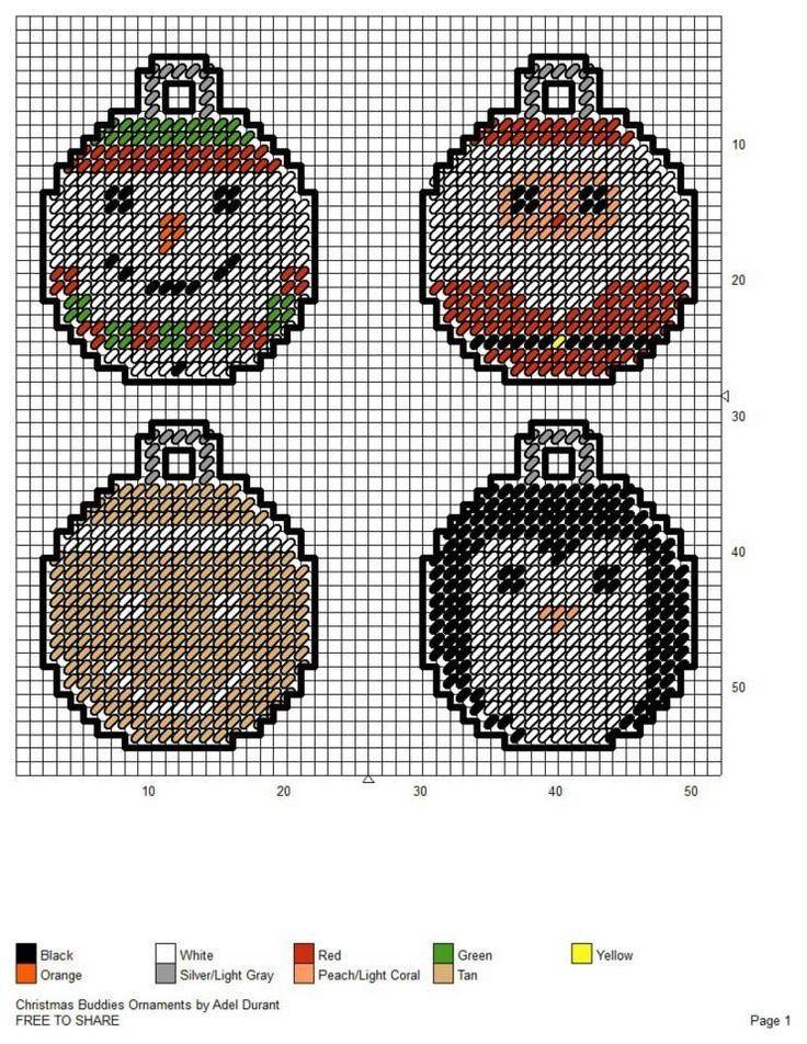 Plastic Canvas Christmas Patterns Free.Free Printable Plastic Canvas Christmas Pattern Fresh Free