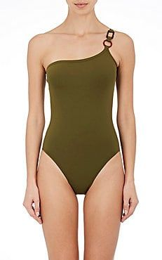 611443de5d Diagramme One-Shoulder One-Piece Swimsuit | swim in 2019 | One Piece ...