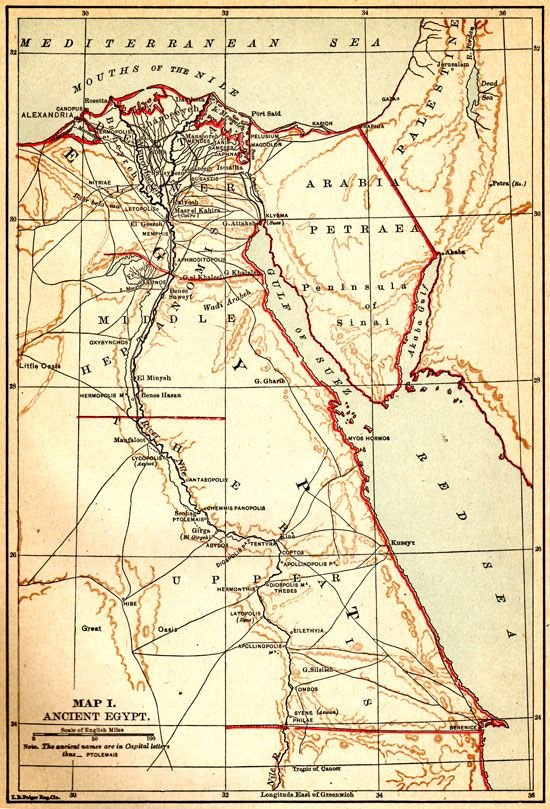 Map Of Ancient Egypt Walk Like An Egyptian Map Egypt Map Egypt