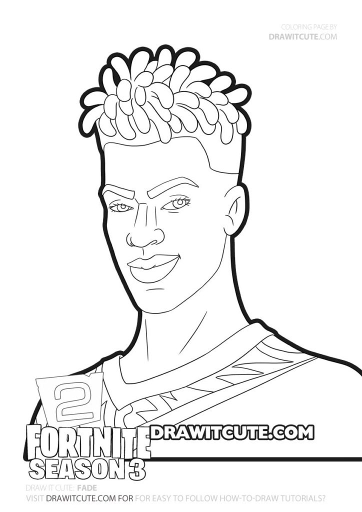 Fade Fortnite Chapter 2 Coloring Page By Draw It Cute Fortnitegameplay Fortnitesolo Fortnitememes Fortnitedaily Fortni Coloring Pages Drawings Fade Skin