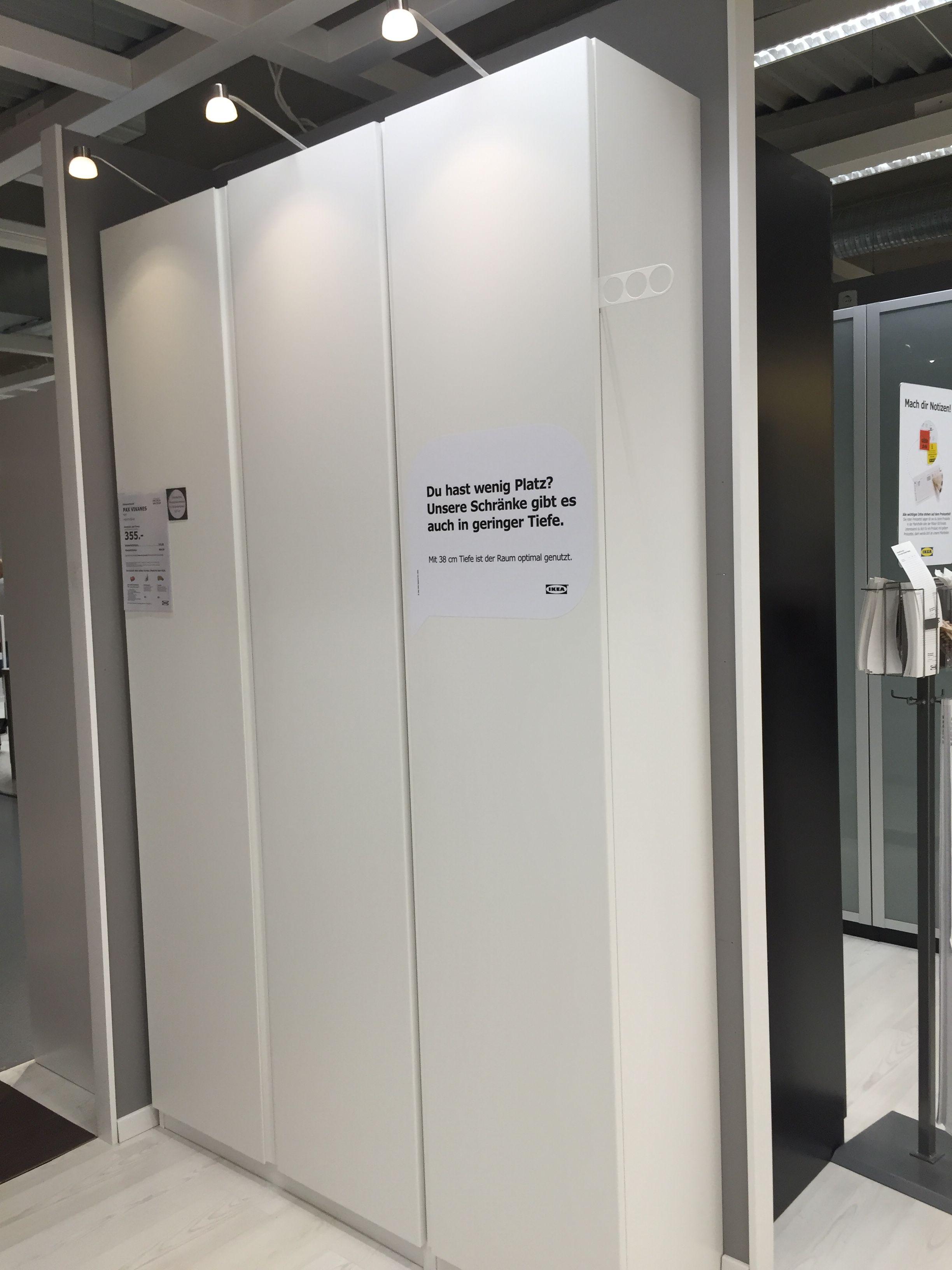 Unique Schrank IKEA Pax mit T ren Vikanes Keine Griffe notwendig