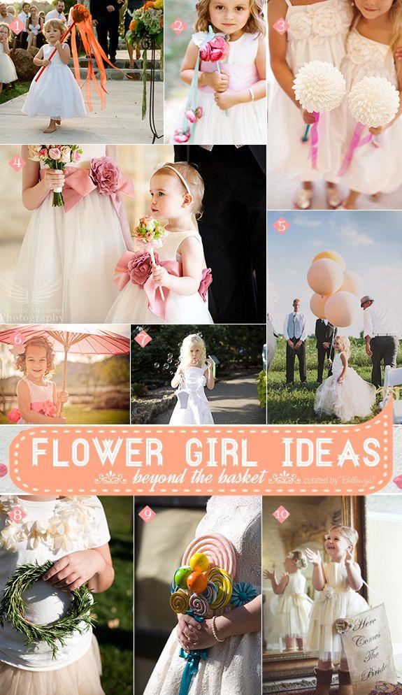 Flower Girl Fun: Alternative Ideas to Say \'Goodbye\' to the Basket ...