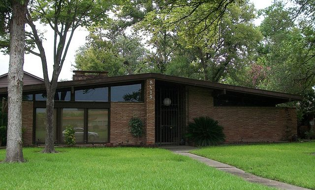 Midcentury Home Glenbrook Valley Houston Texas By Acadian