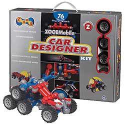 Zoobmobile Car Designer Kit Instructions For 13 Models So Kids Can