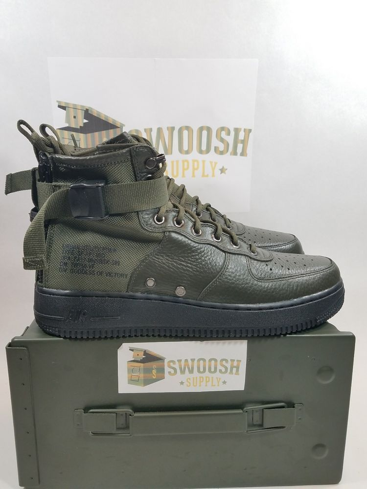NIKE SF AF1 MID 917753 300 Sequoia Special Field Air Force