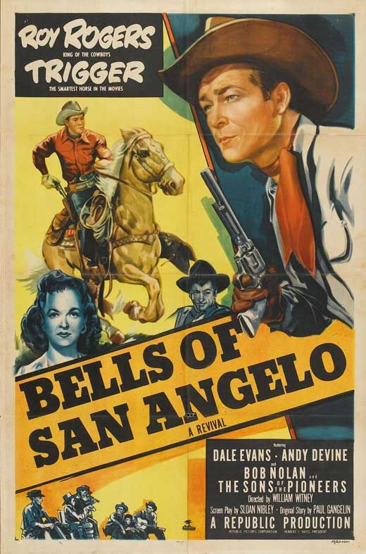 Mexican western movie posters | Bells of San Angelo movie download