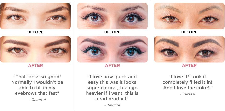 Before After Beauty Secrets Eyebrows The Secret Eyebrowns Eye Brows