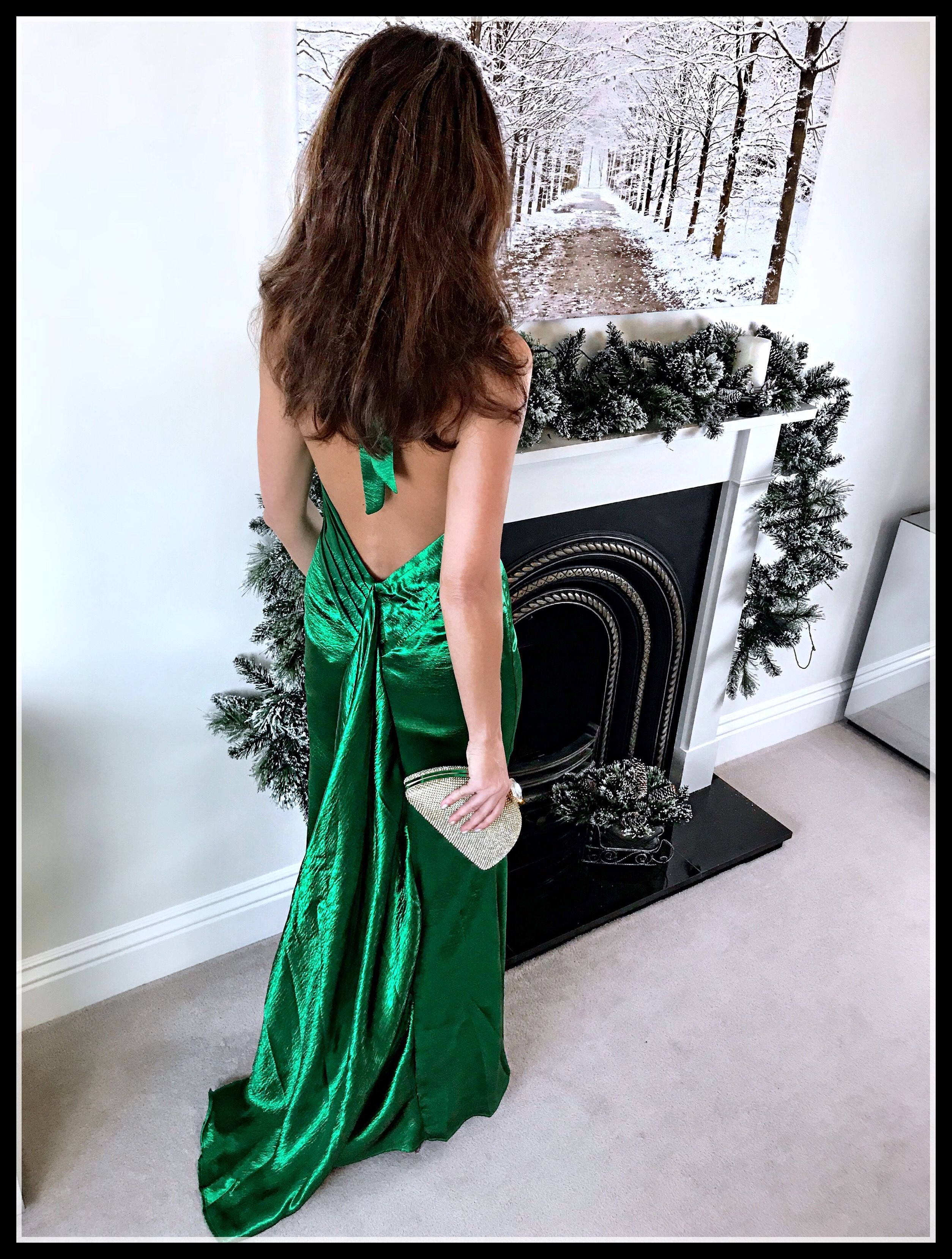 Fashion and lifestyle blog emerald green gown green gown and emeralds