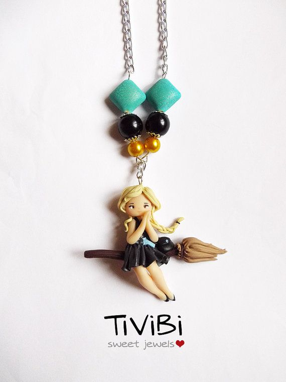 Witch necklace by TiViBi on Etsy