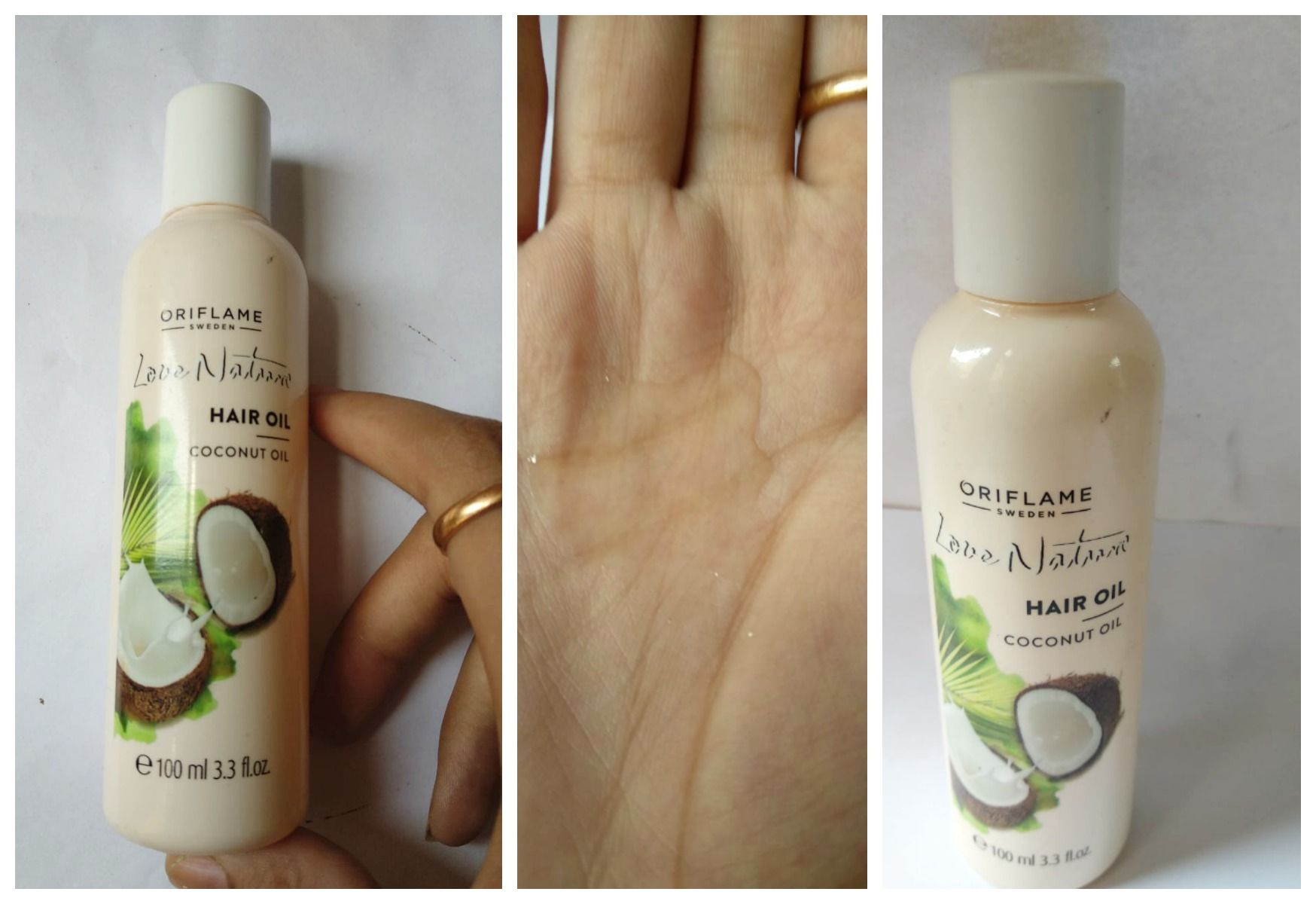 Oriflame Love Nature Coconut Hair Oil Review Hair oil