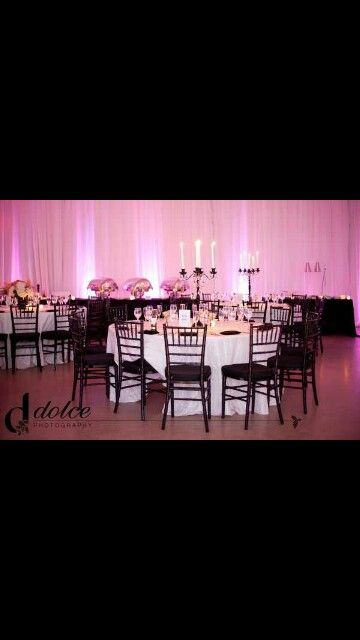 Pink lights with classy decor