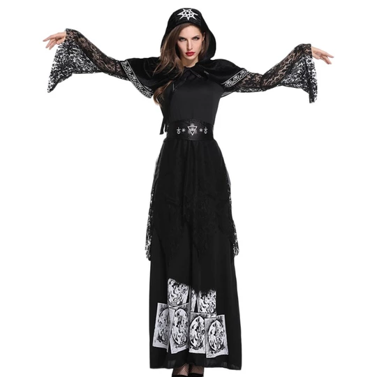 Girls Forgotten Souls Gothic Bride Zombie Ghost Halloween Fancy Dress Costume