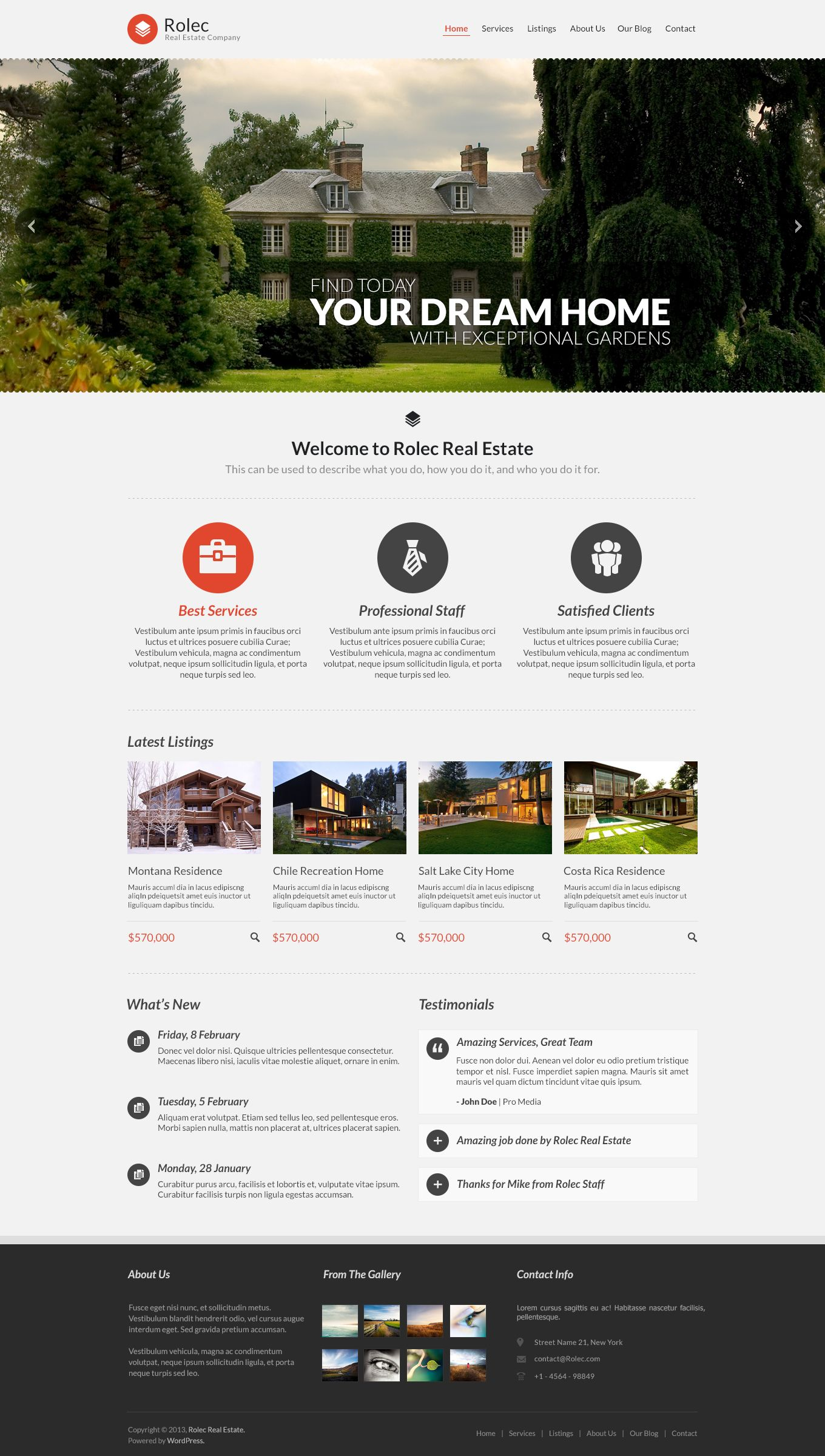 Business / Real Estate Template | Real Estate Industry | Pinterest ...